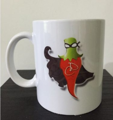 Devon Chilli Man Mug