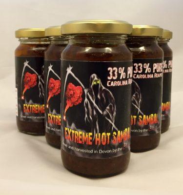 Extreme hot sambal