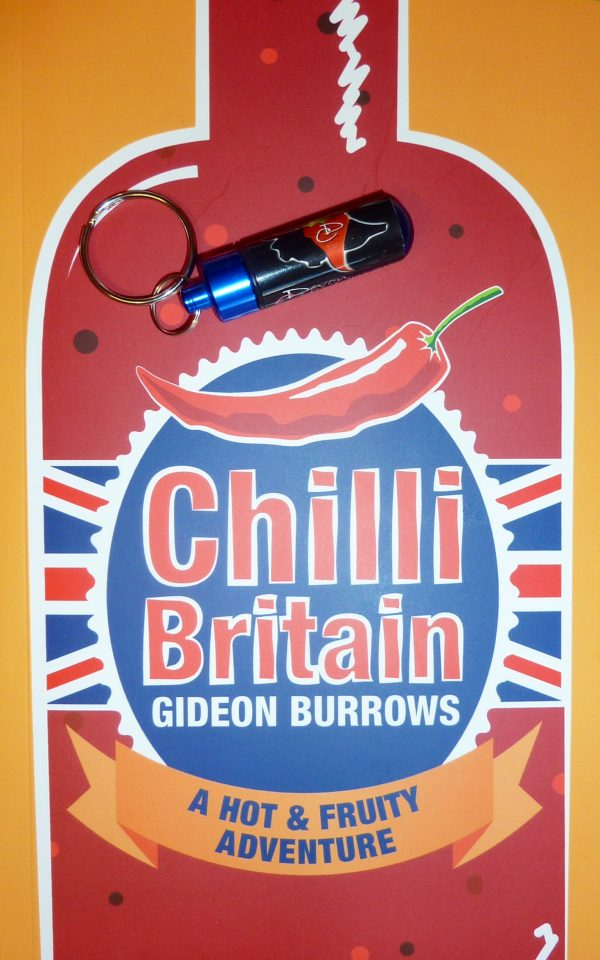Chilli Britain Book from the Devon Chilli Man