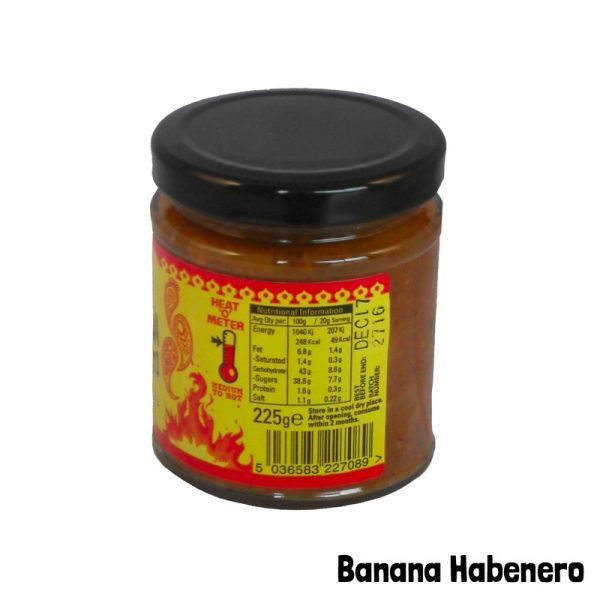hot banana habenero heatometer